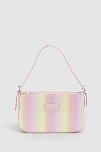 Housebags Kadın Gradient Tokalı Baguette Çanta 208