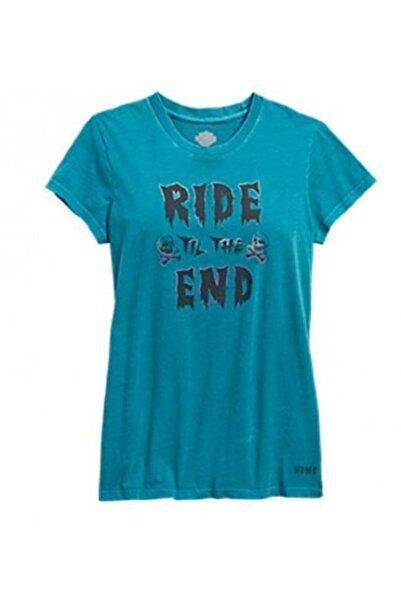 Harley Davidson Harley-davidson V Yakalı Kadın T-shirt