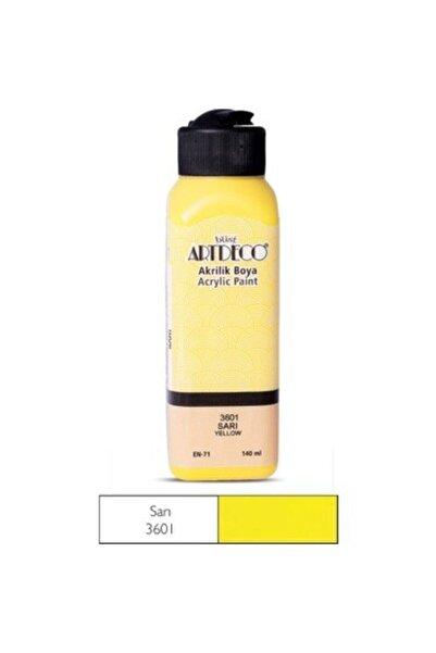 Artdeco Akrilik Boya 140ml - Sarı
