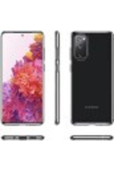 Joyroom Samsung Galaxy S20 Fe Süper Silikon Kamera Korumalı Şeffaf Kılıf