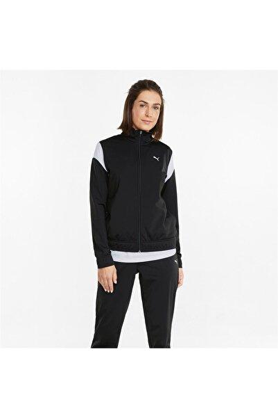 Puma Classic Tricot Suit Op Kadın Siyah Eşofman Takımı - 589133-01