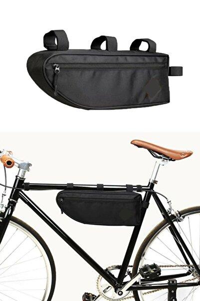DR VE Dr-ve 6 Litre Pole Bisiklet Kadro Çanta Su Geçirmez Alüminyum Folyo Hazneli Seyahat Çantası