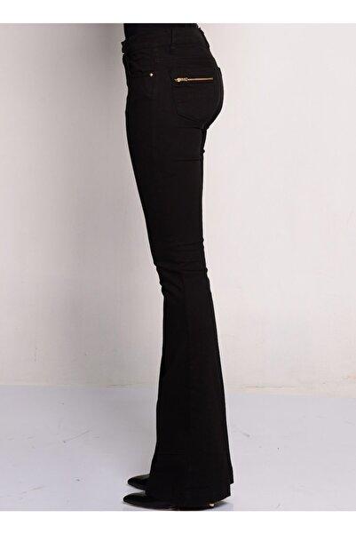 Fabrika Siyah Kadın Pantolon
