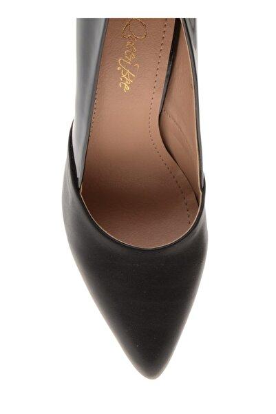 QUEEN BEE Siyah Topuklu Ayakkabı