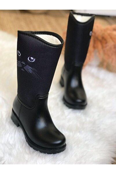 Surpie Shoes Kız Çocuk Desenli Yağmur Çizmesi