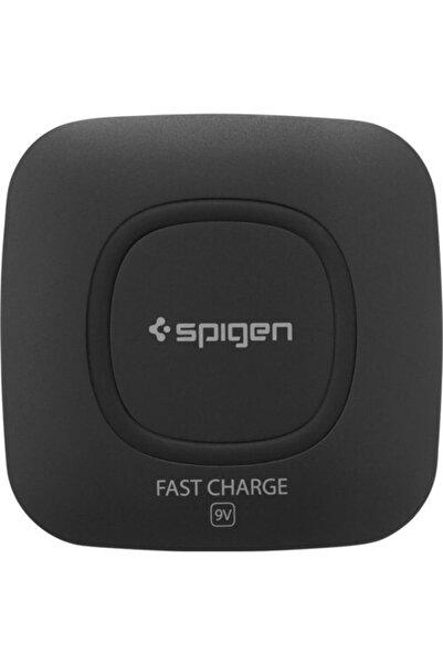 Spigen Essential F301w 9w Hızlı Kablosuz Şarj Cihazı Qı Sertifikalı Tüm Cihazlar ile Uyumlu 000c