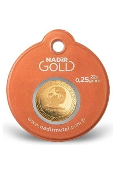 Nadir Gold 0.25 Gram 22 Ayar Paketli Altın