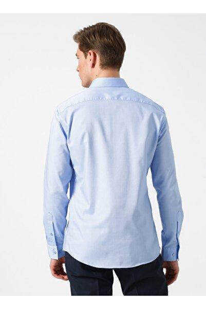 Fabrika Non-ıron Mavi Gömlek