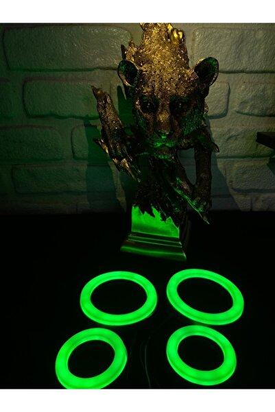 GENÇ GARAJ Gnc Garantili Tofaş Far Ve Sis 4'lü Yeşil O Model Angel Led