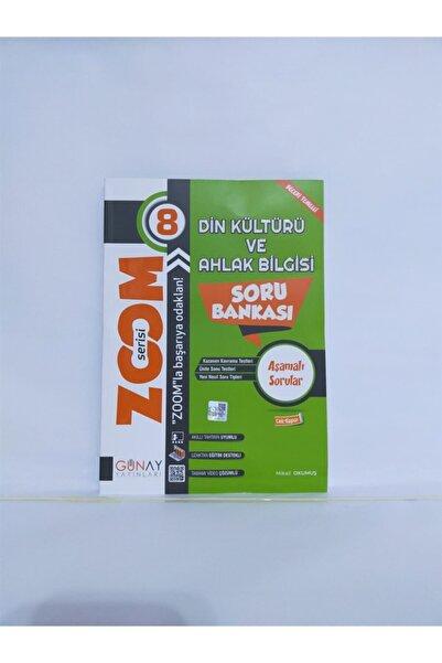 Günay Yayıncılık Zoom Serisi 8. Sınıf Din Kültütü Ve Ahlak Bilgisi Soru Bankası -