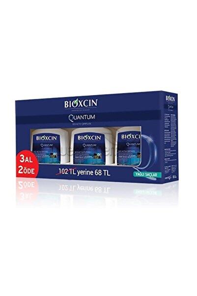 Bioxcin Yağlı Saçlar Quantum Şampuan 300 ml 3 Adet  8680512625513