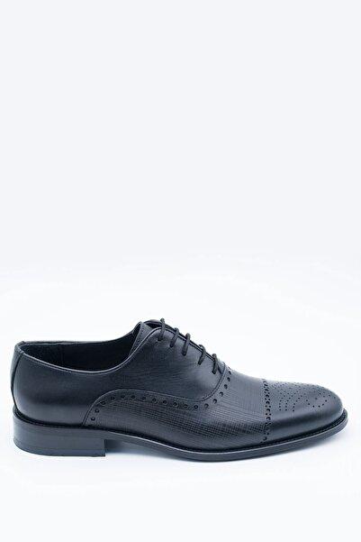 İgs Erkek Deri Klasik Ayakkabı I17523-20 M 1000 Siyah