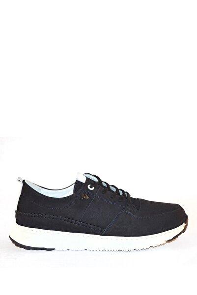 İgs Erkek Lacivert Nubuk Deri Günlük Ayakkabı I21s62109 M 1232
