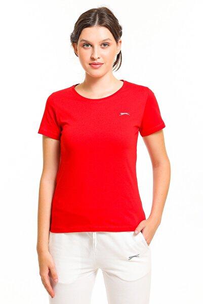 Slazenger Yonca Kadın T-shirt Kırmızı