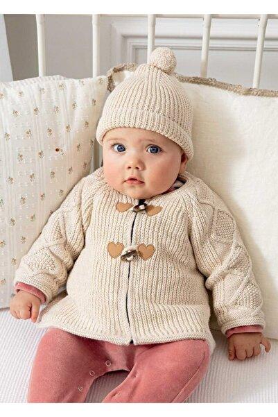 MAYORAL Kız Bebek Örme Hırka-şapka Set