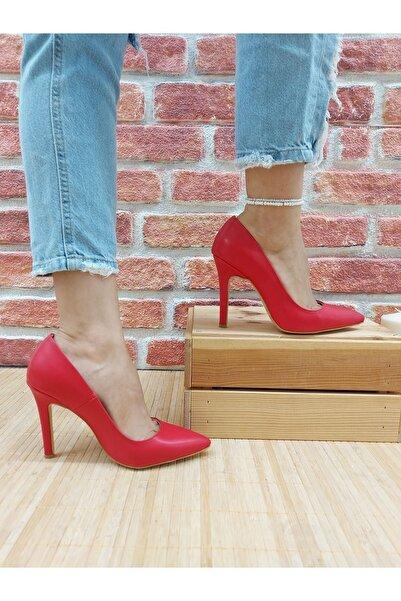 Venüs Tokyo Kırmızı Cilt Stiletto