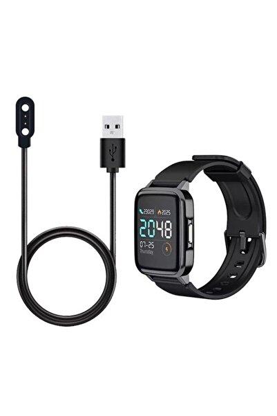 Universal Haylou Ls01,ls02 Solar Smart Akıllı Saat Için Şarj Kablosu