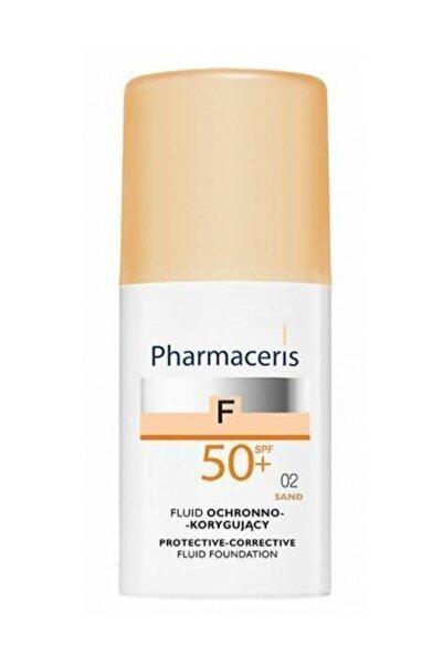 Pharmaceris Spf 50+ Sand 02 Protective Corrective Foundation Fluide 30 ml