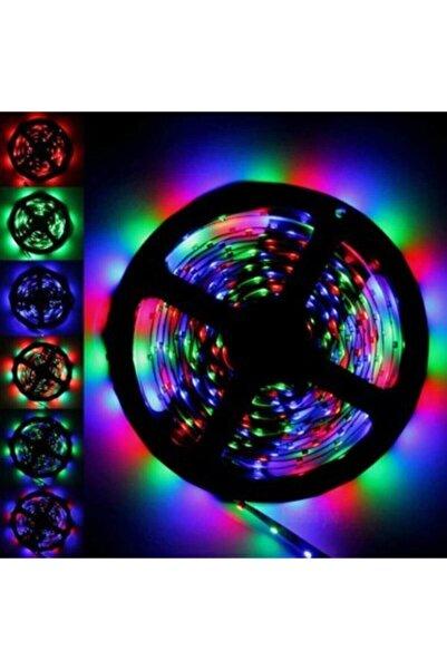 Keskin Hediyelik 5mt Kumandalı Işıldak Rgb Şerit Led Lamba Iç Ve Dış Mekan Silikon Yapışkanlı Aydınlatma
