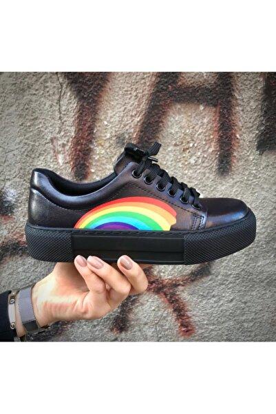 Köstebek Kadın  Rainbow (gökkuşağı) Sneakers Ayakkabı