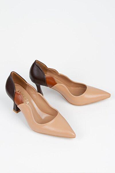 Alessia Shoes Özel Detaylı Birçok Renkli Stiletto