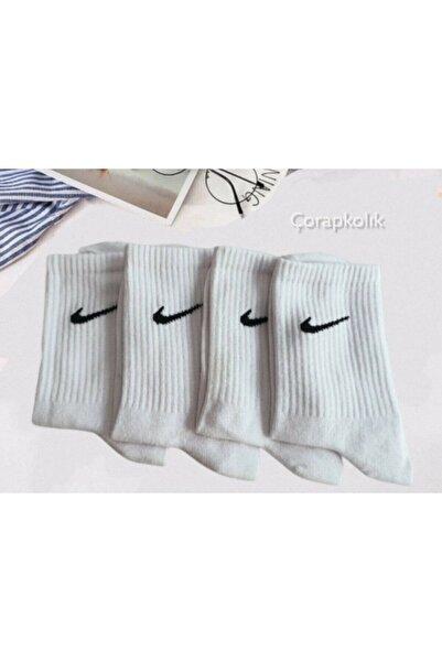 Pofudy Socks Beyaz Atletik Çoraplar 4'lü  Seti2