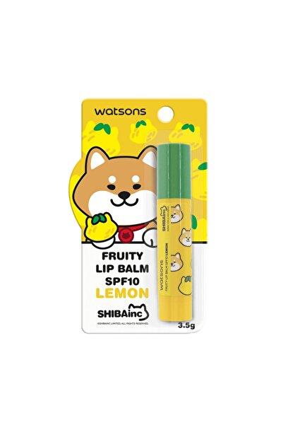 Watsons Fruity Lip Balm Spf10 Lemon 3.5 gr