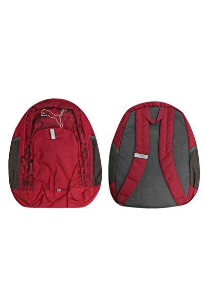 Puma 073392 04 Red Backpack Echo Mens Womens Unisex Kids Adults
