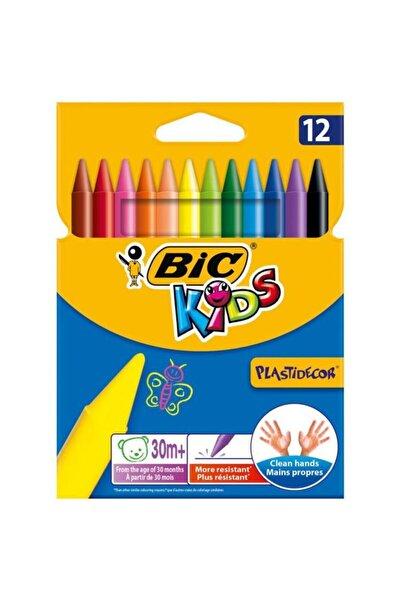 Bic Çocuk 12 Renk Silinebilir Mum Pastel Boya