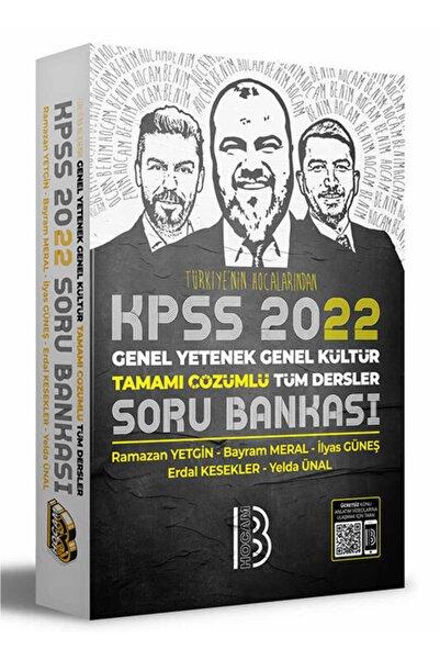 Benim Hocam Yayınları 2022 Kpss Genel Yetenek Genel Kültür Tamamı Çözümlü Tüm Dersler Soru Bankası