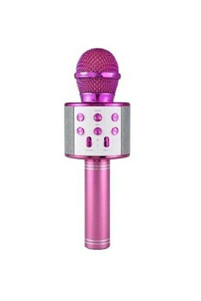 Wster Karaoke Mikrofon Bluetooth Usb Hafıza Kartı Ve Aux Girişli