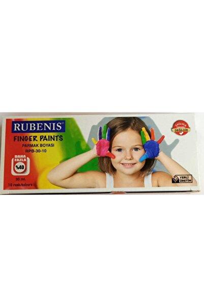 Rubenis Rpb30-10 Parmak Boyası 10'Lu