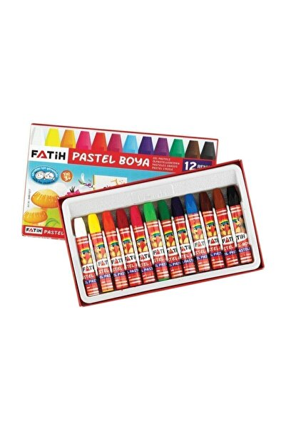 Fatih Pastel Boya Yeni Formül 12 Renk