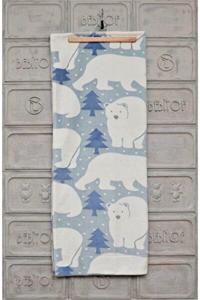 Bebitof Kutup Ayı Desenli Battaniye