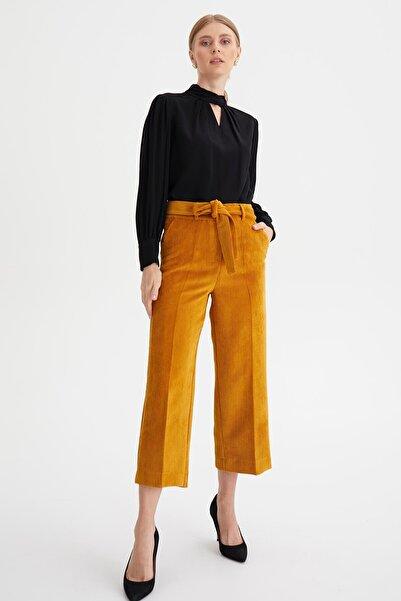 Chima Culotte Kadife Pantolon