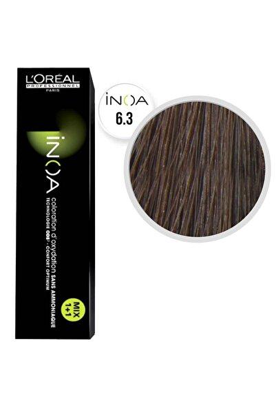 İNOA 6.3 Koyu Kumral Dore Saç Boyası  60 ml