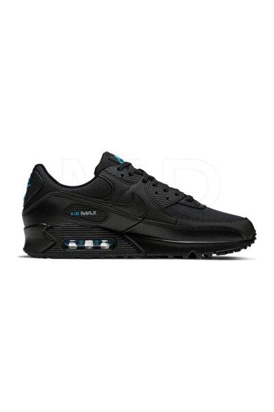 Nike Air Max 90 Siyah/lazer Mavisi Ayakkabı