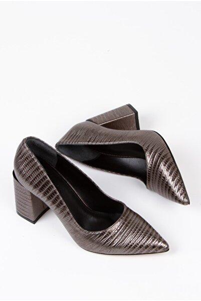 Alessia Shoes Özel Detaylı Dekolte Stiletto