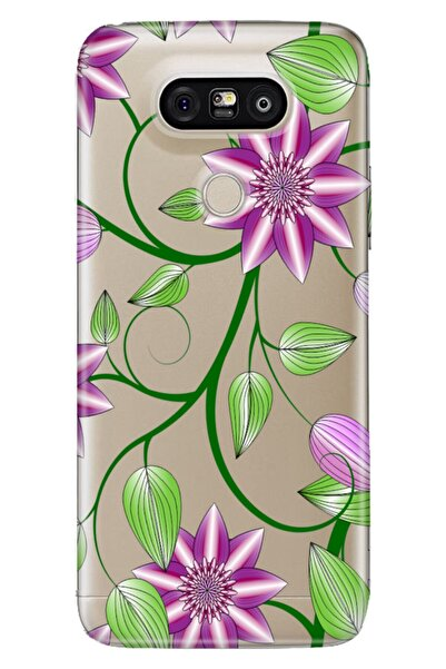 LG G5 Kılıf Pure Modern Desenli Silikon Ebruli