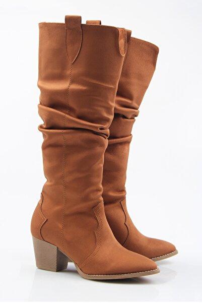 Tripy Kadın Körüklü Kovboy Çizme