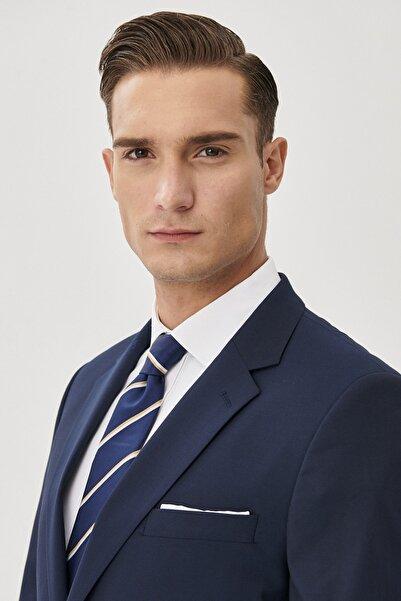 ALTINYILDIZ CLASSICS Erkek Lacivert Regular Fit Takım Elbise