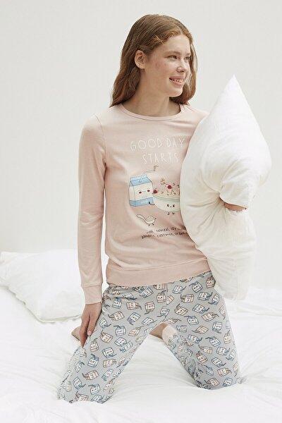 Penti Good Day Termal Pijama Takımı