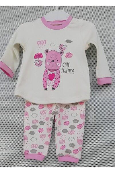 TONTİŞLER BEBEK VE ÇOCUK GİYİM Kız Çocuk Pijama Takımı %100 Pamuklu Kaliteli Kumaş