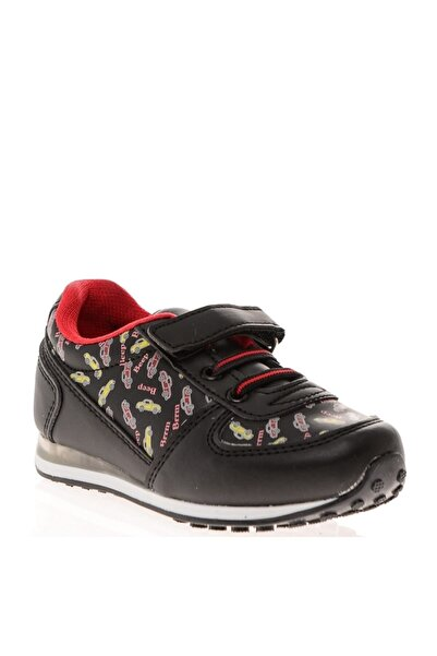 Mammaramma Koyu Siyah Yürüyüş Ayakkabısı