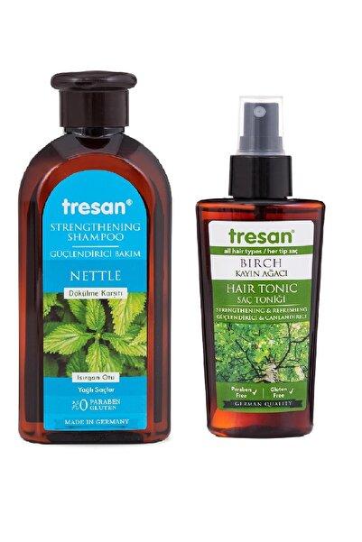 Tresan Dökülme Karşıtı Isırgan Otu Güçlendirici Bakım Şampuanı 300 Ml Yağlı Saçlar Için+ K.ağa