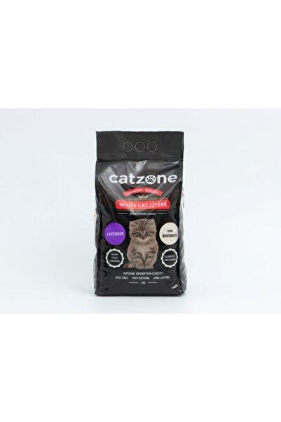 catzone Lavantalı Süper Topaklanan Bentonit Kedi Kumu 5 Kg