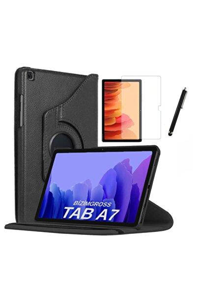 BizimGross Samsung Galaxy Tab A7 Sm T500 T505 T507 Uyumlu Dönebilen Tablet Kılıfı Ekran Koruyucu Kalem 10.4 Inç