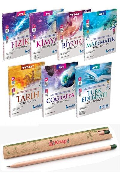 Muba Yayınları Ayt Tüm Dersler Hediyeli Soru Bankası Seti Tam 7 Kitap