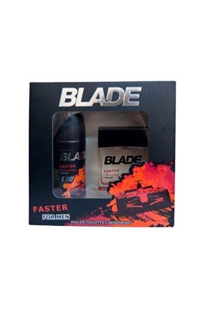 Blade Faster Erkek Parfüm Set 8690586009782