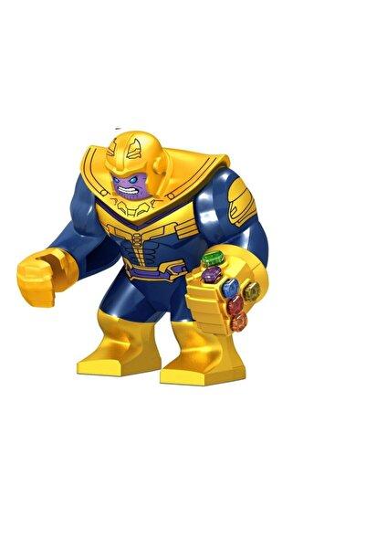 Xinh Infinity War Mini Figür Thanos Parlak Sonsuzluk Eldivenli Z20